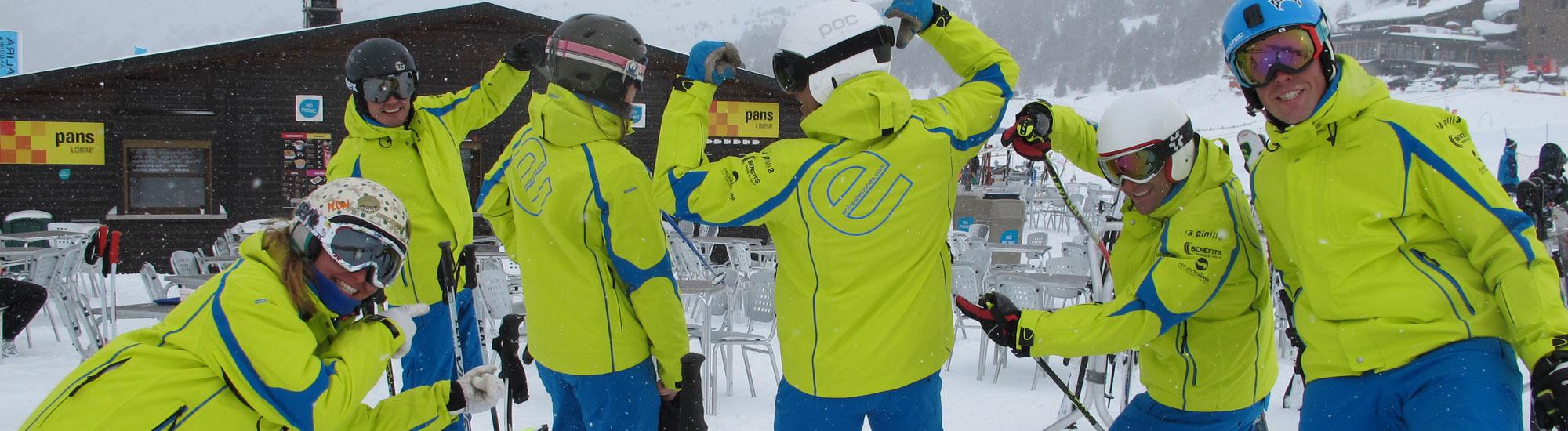 esquiar, grupos, precios especiales, puente, fin de semana, semana santa, samana blanca, nieve